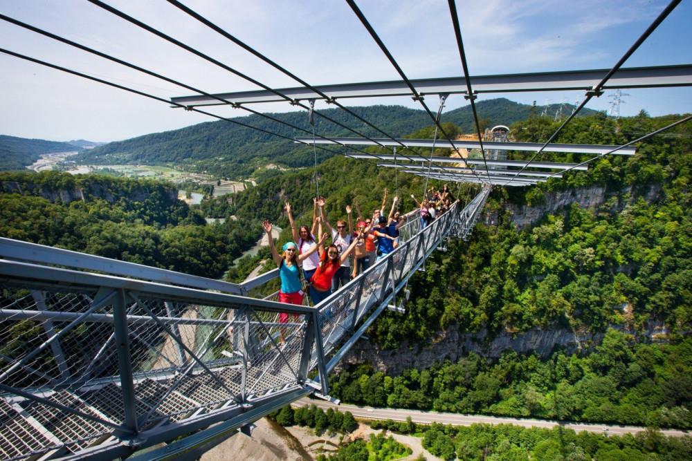 Фото: Курорты Красной Поляны и Олимпийский парк