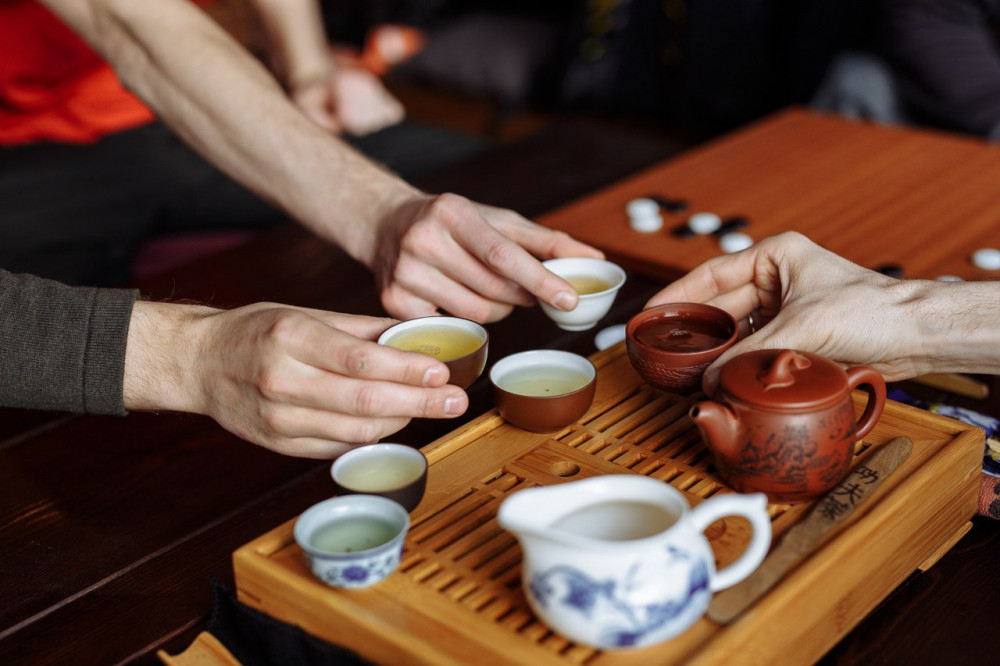 Фото: Традиционная чайная церемония