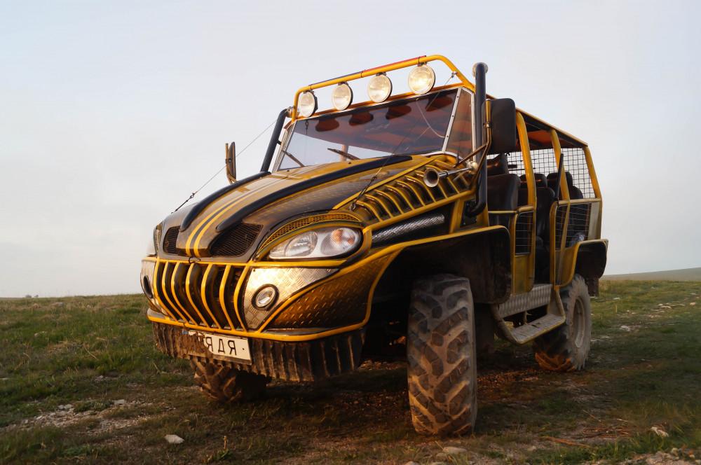 Фото:  Обзорная  экскурсия по горам на джипах