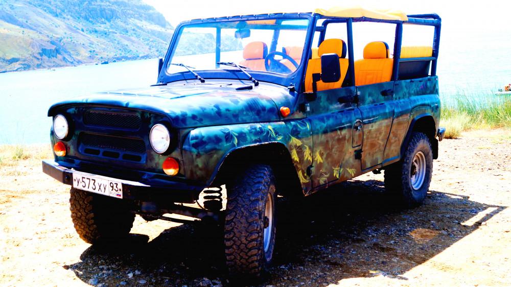 Фото:  Тур на джипах в Солнечную долину – мыс Меганом