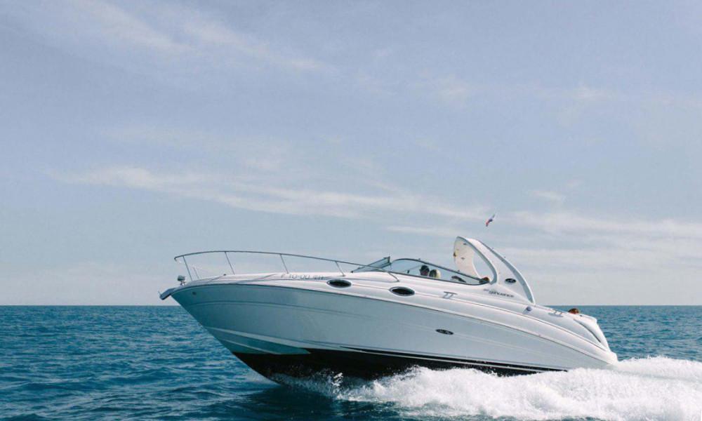 Фото: Скоростной катер «Sea Ray»