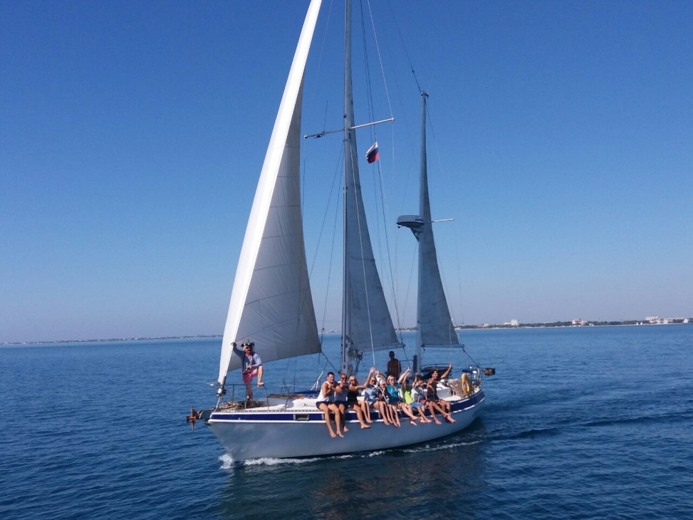 Фото: Аренда парусной яхты «Зефир»