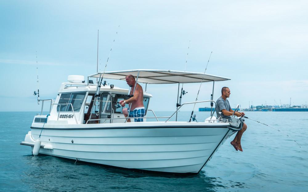 Фото: Рыбалка на катере «Пегас»