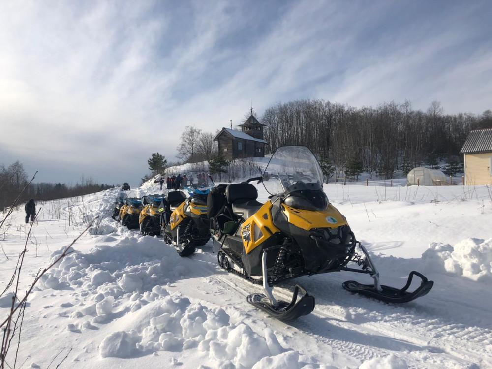 Фото: Тур на снегоходах «По следам саамов» (2 дня)
