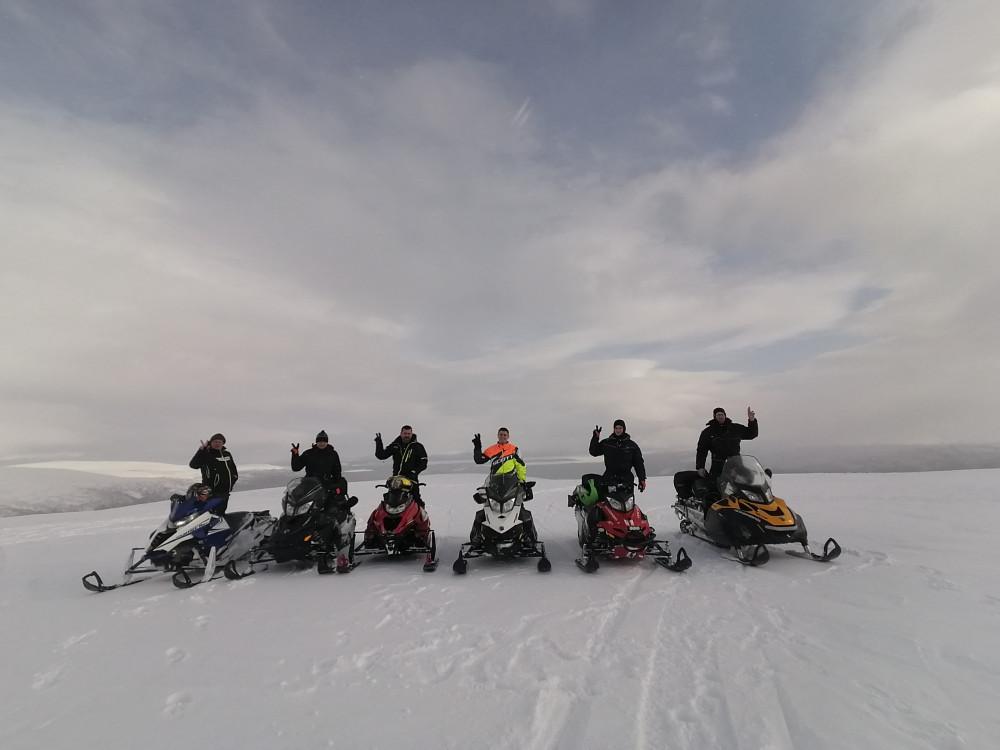 Фото: Хибины - Белое море на снегоходах