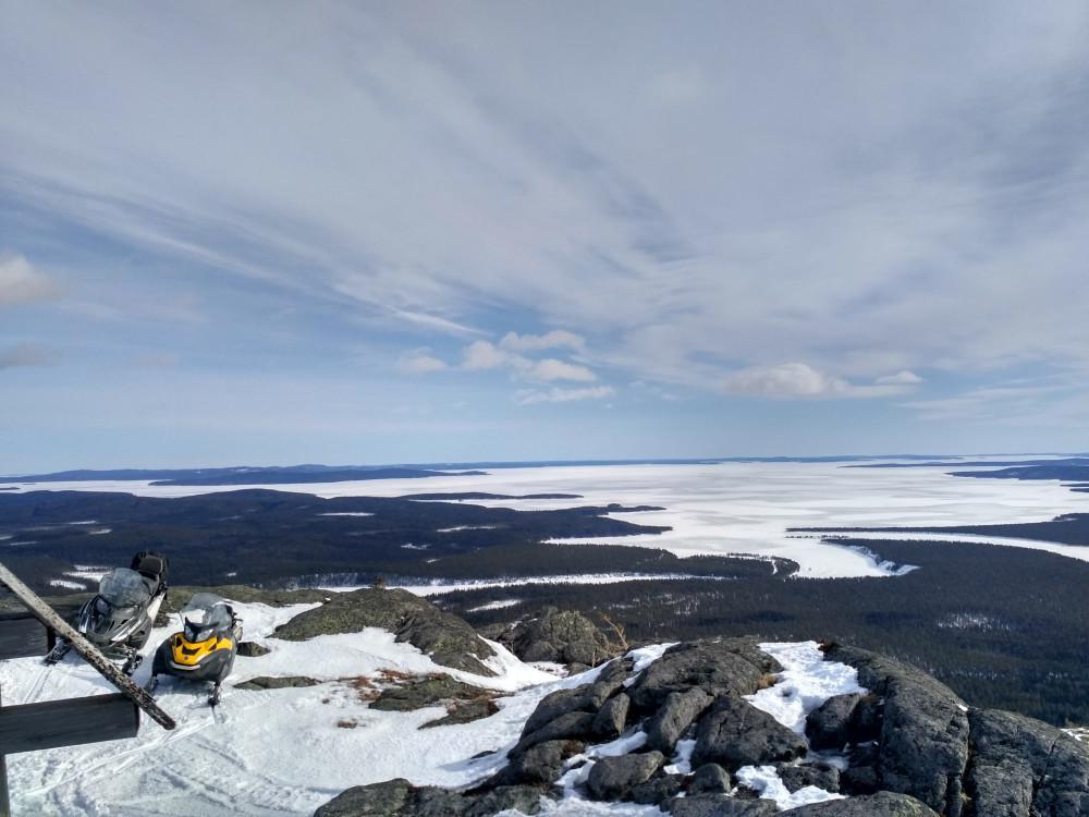 Фото: Белое Море-Паанаярви на снегоходах (5 дней)