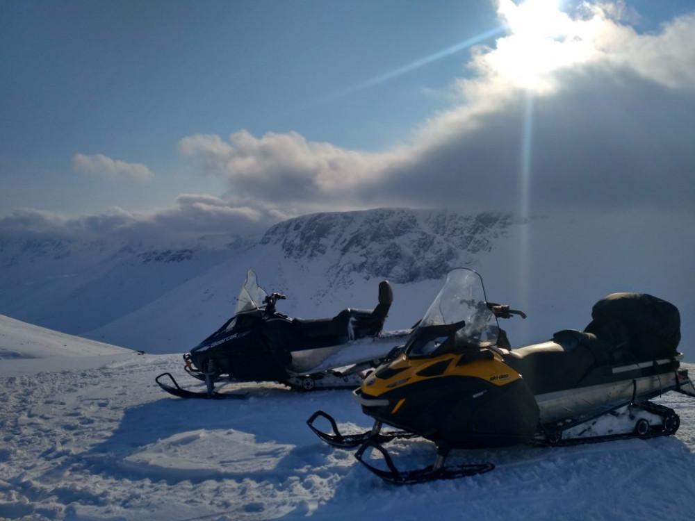 Фото: Сафари на снегоходах по Хибинам (3 дня)