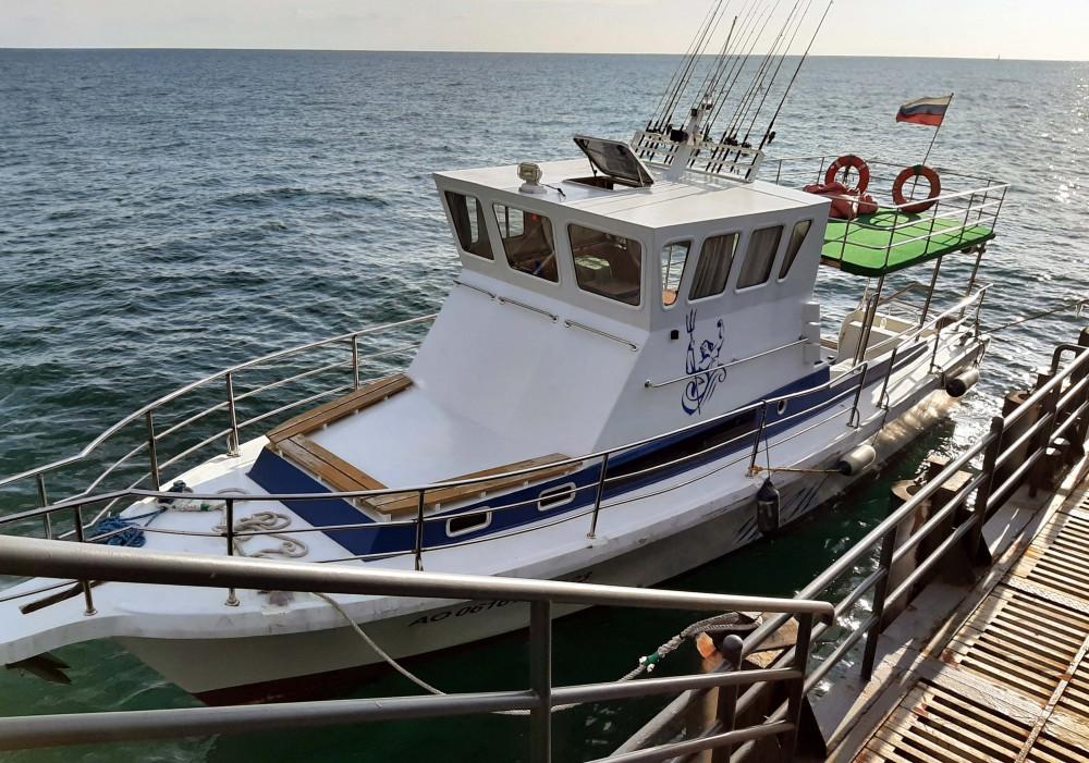 Фото: Рыбалка в море на двухпалубном судне