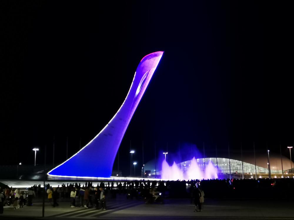 Фото: Вечерний Олимпийский парк, с гидом