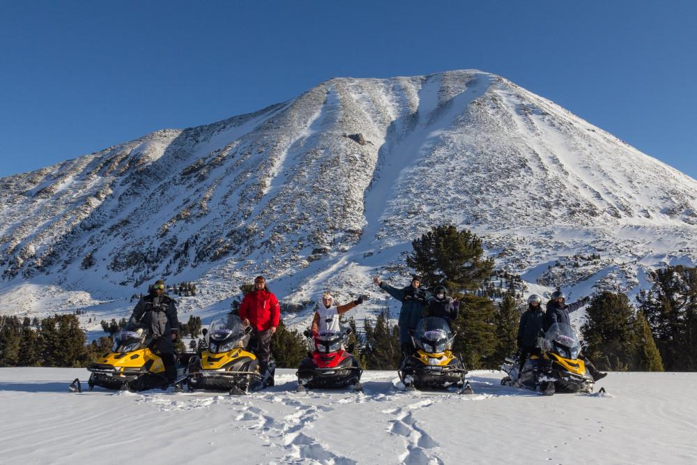 Фото: Сафари на снегоходах по Восточному Алтаю