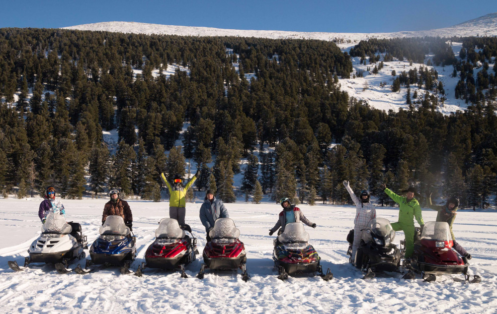 Фото: Большое снегоходное путешествие
