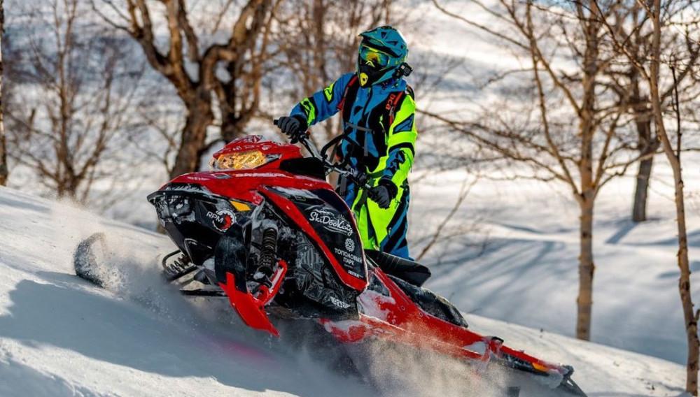 Фото: Обучение езде на снегоходе для новичков