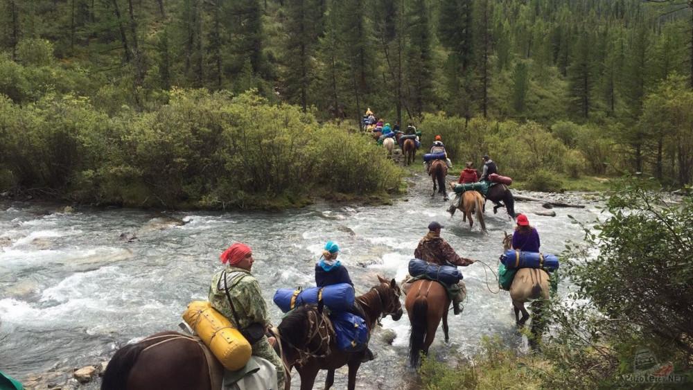 Фото: Трёхдневный конный поход