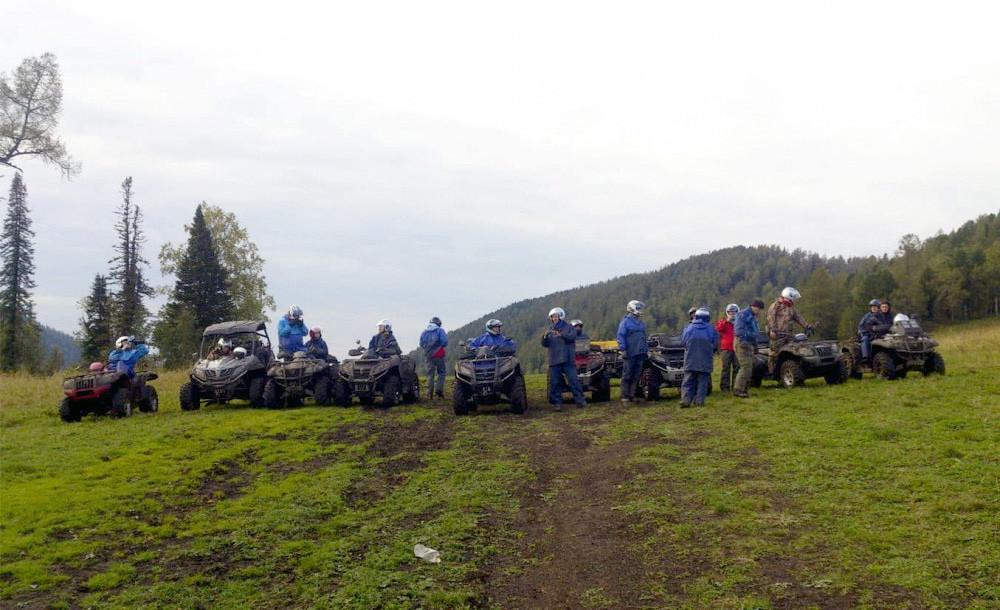 Фото: Квадро-экспедиция на Алтай