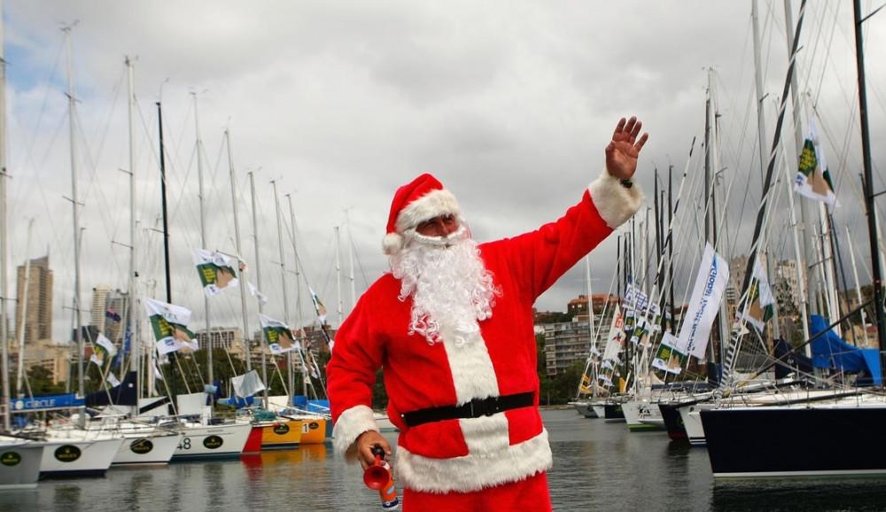 Фото: Новый год на яхте «Bruno»