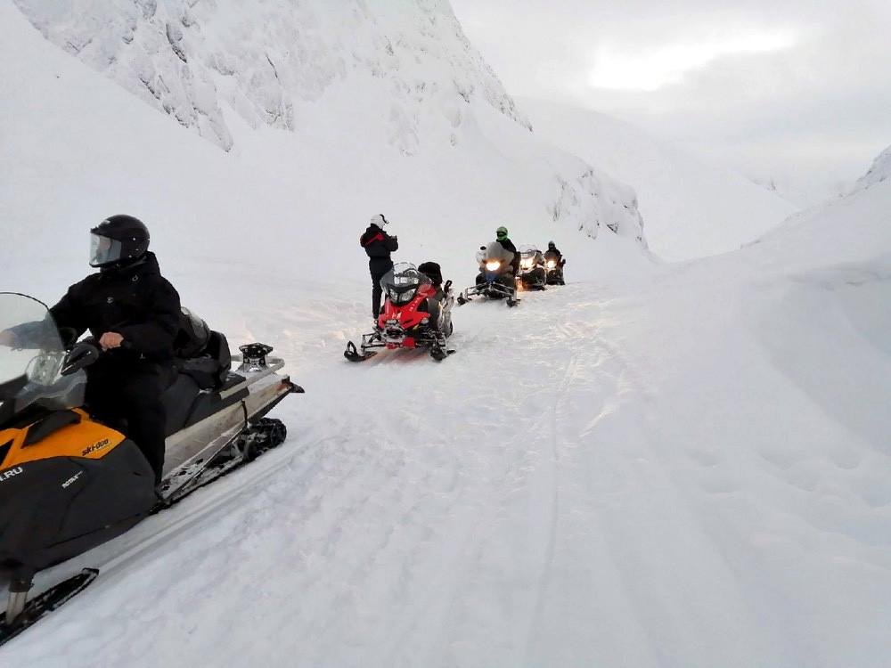Фото: На снегоходах по Карелии