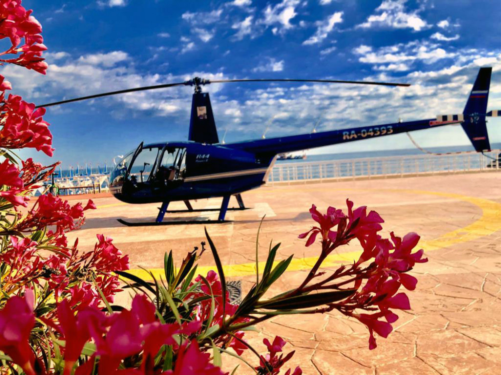 Фото: Полёт на вертолёте «Дыхание гор»