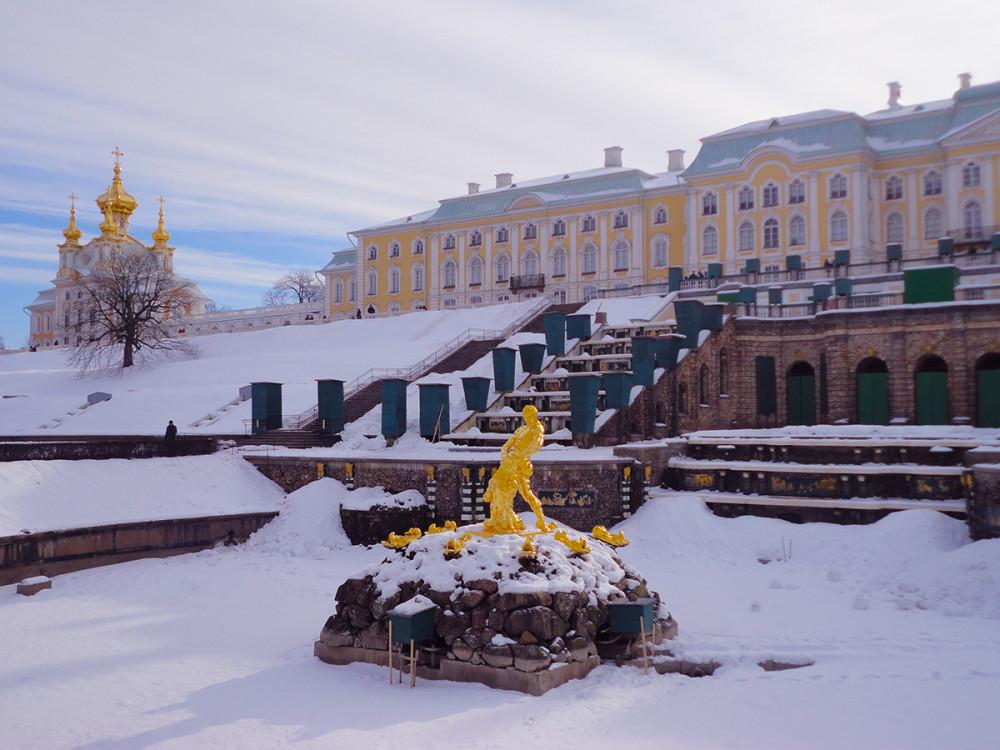 Фото: Петергоф. Большой дворец