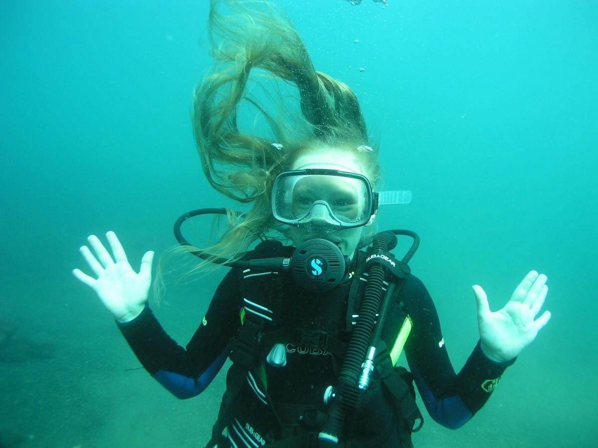 Фото: Погружение c аквалангом для всех
