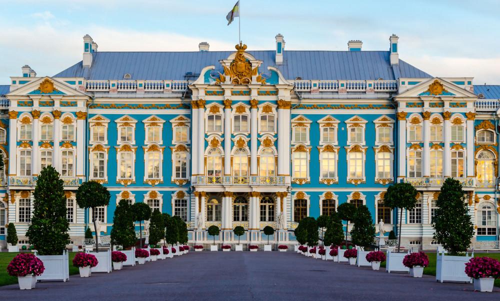 Фото: Царское село. Екатерининский дворец