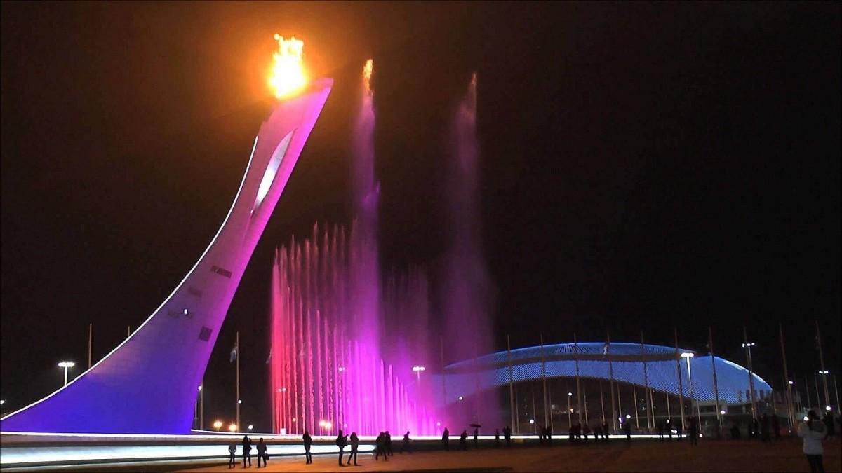 Фото: Вечерний Олимпийский Парк