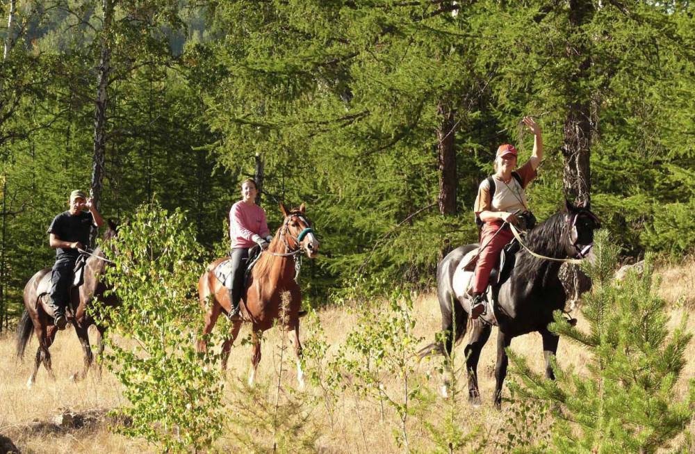 Фото: Поход выходного дня «…на быстром коне»