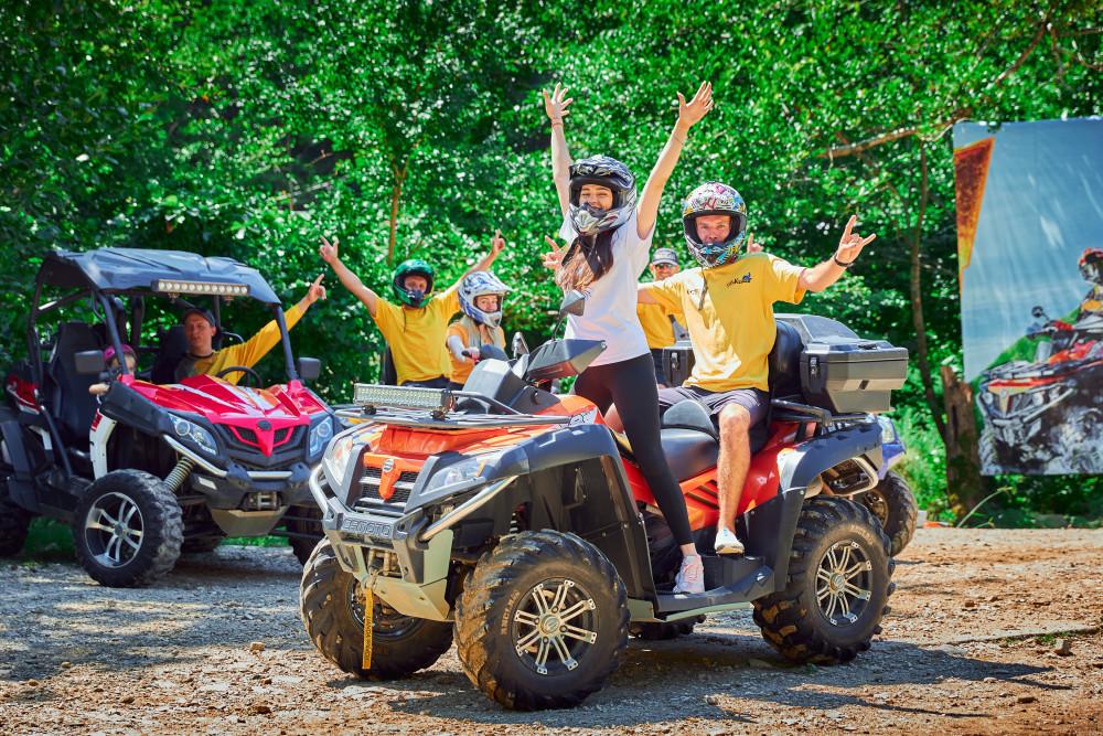 Фото: Тур на квадроциклах «Лесной водопад»
