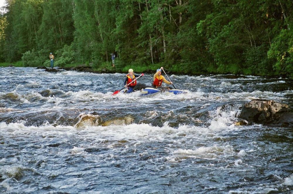 Фото: Сплав по реке Охта