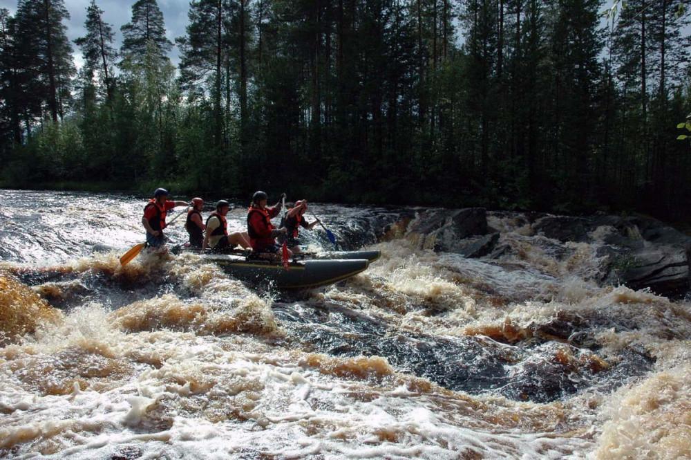 Фото: Сплав по реке Кереть