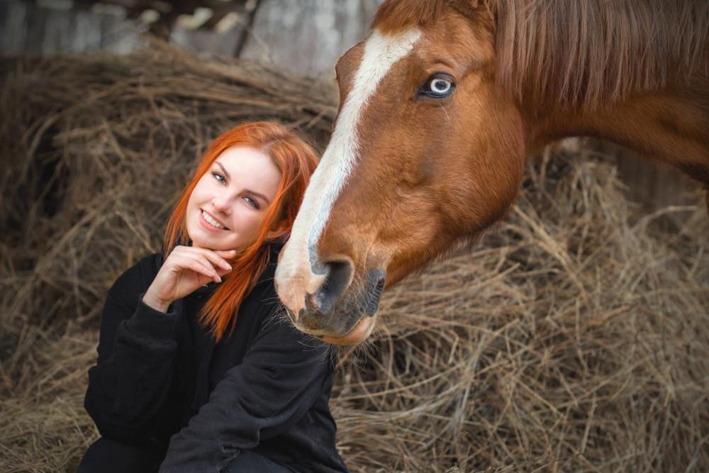 Фото: Фотосессия с лошадьми