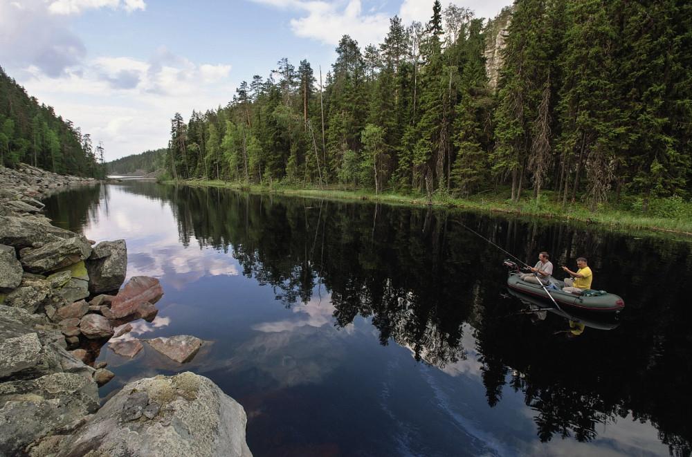 Фото: Рыболовный тур в Карелию
