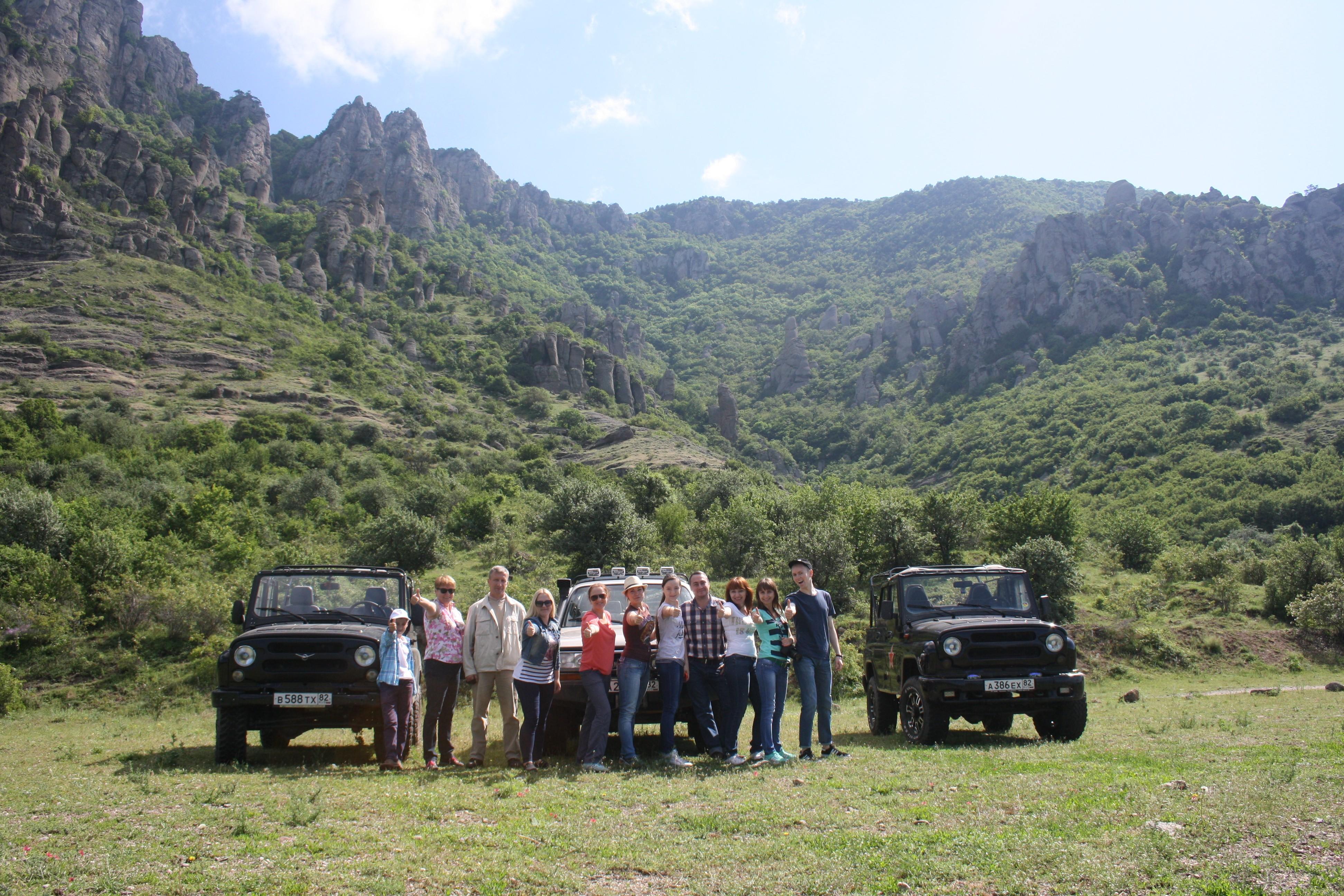 Фото: Джип тур на вершину южной Демерджи