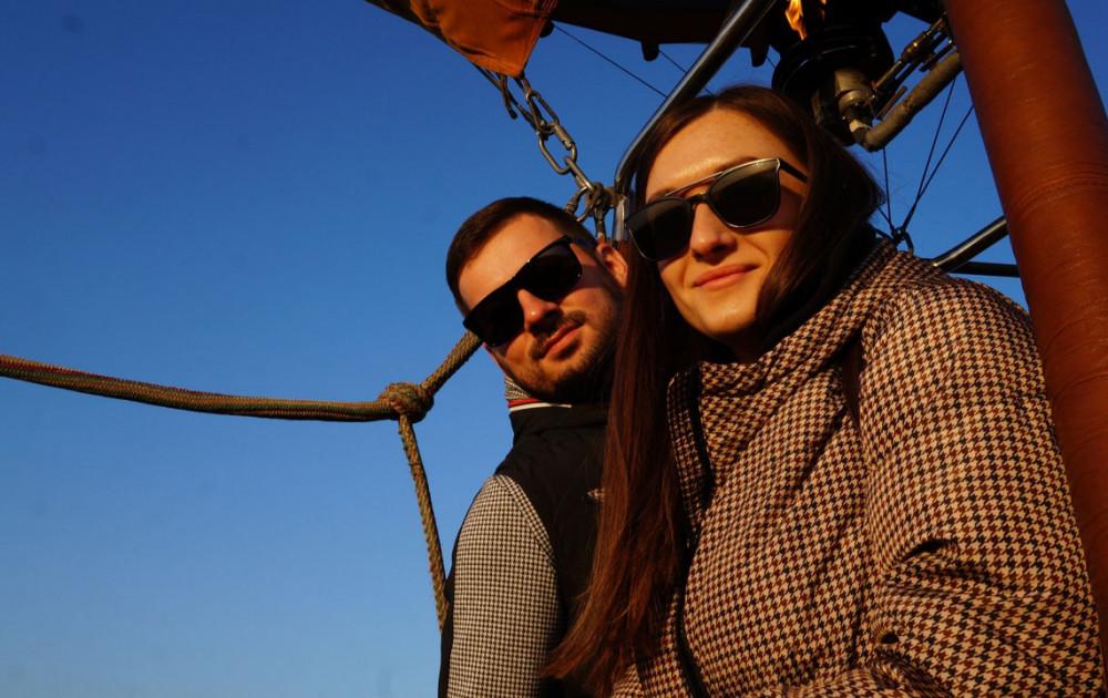 Фото: Романтический полёт для двоих