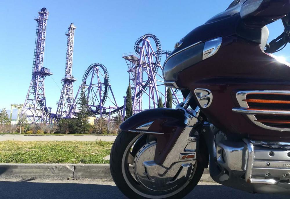 Фото: По Олимпийскому парку Сочи на мотоциклах