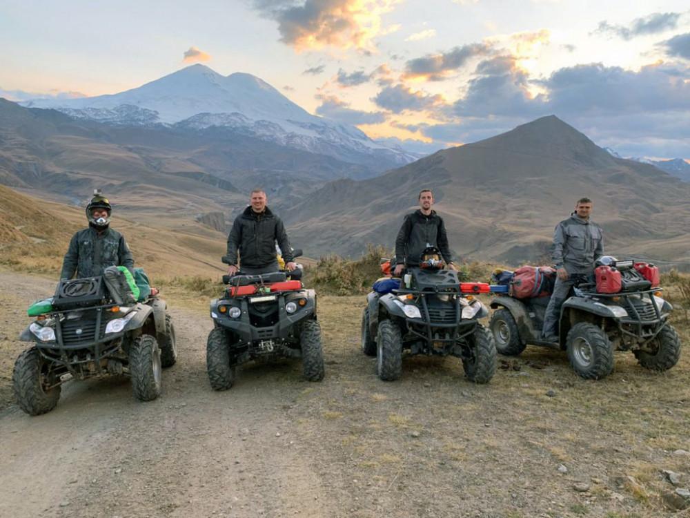 Фото: Квадро-путешествие на Кавказ