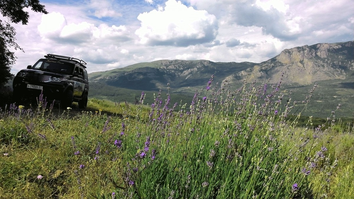 Фото:  «Лавандовые поля + Долина привидений»