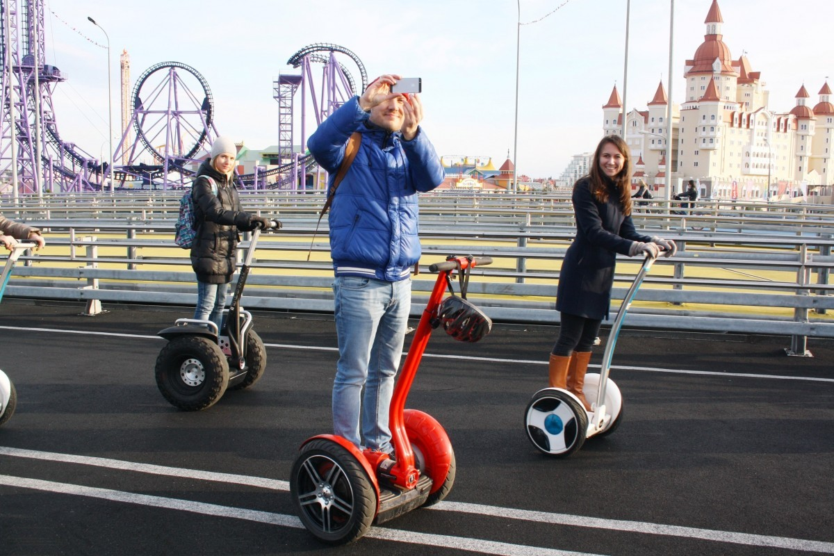 Фото: Сигвей-тур «Олимпийский парк»