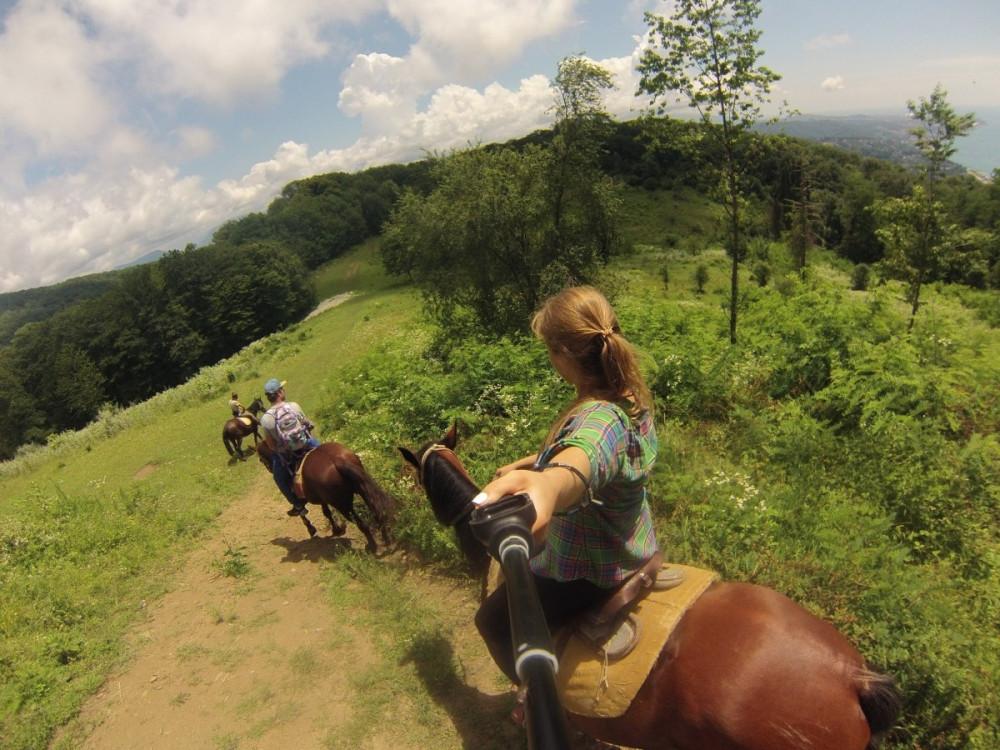 Фото: Конный маршрут по горе малый Ахун