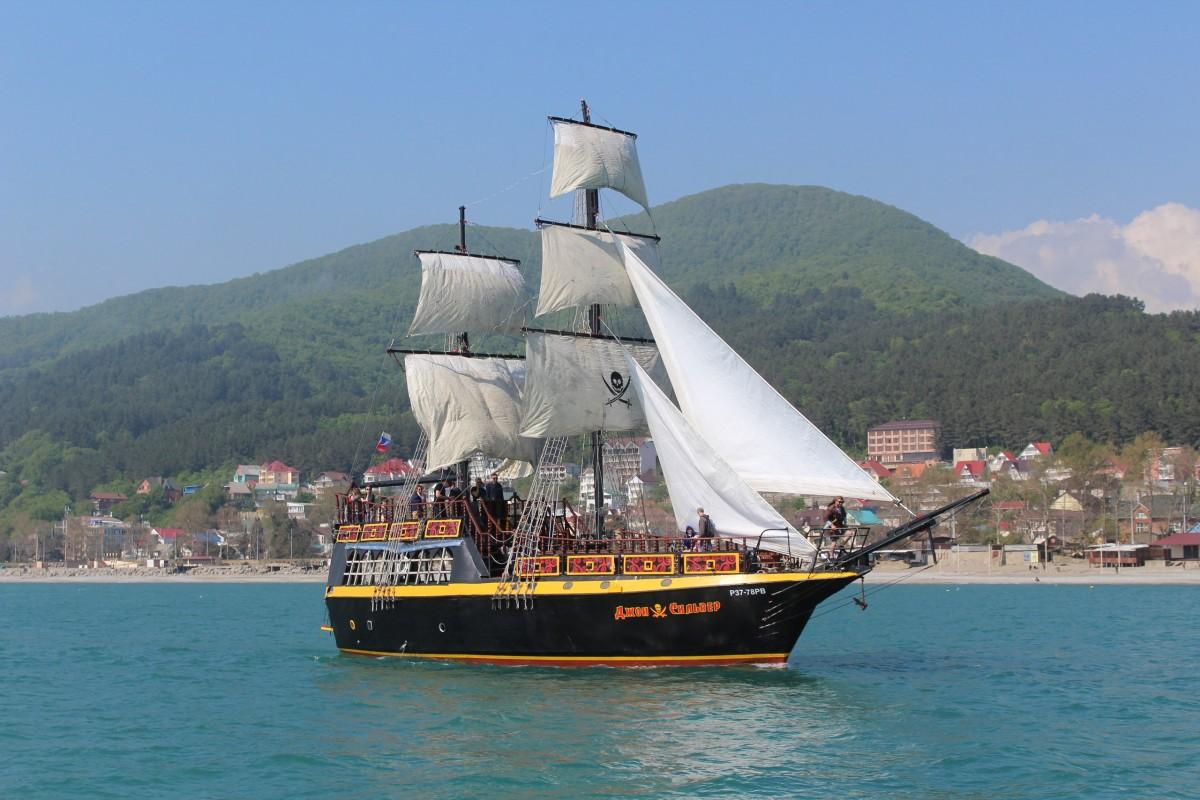 Фото: Пиратский корабль «Джон Сильвер»