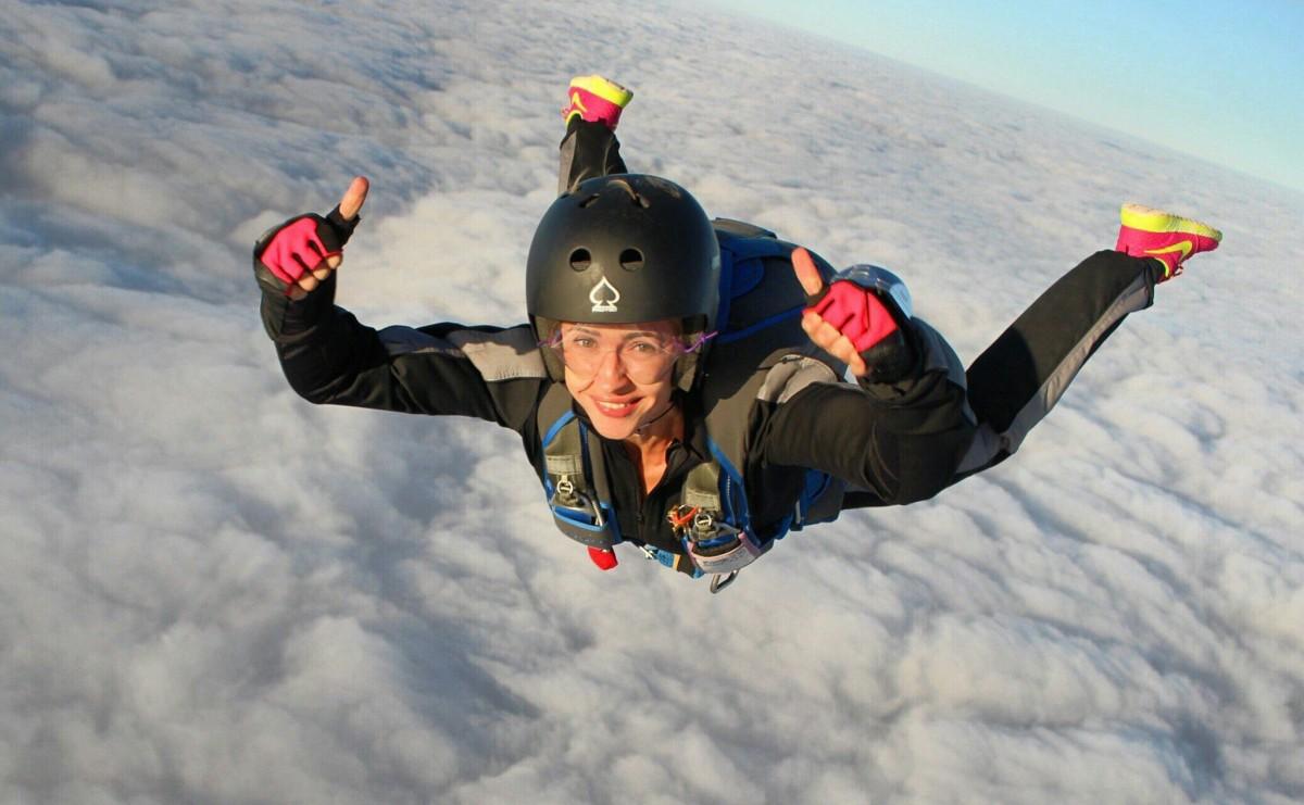 Фото: Прыжок с парашютом