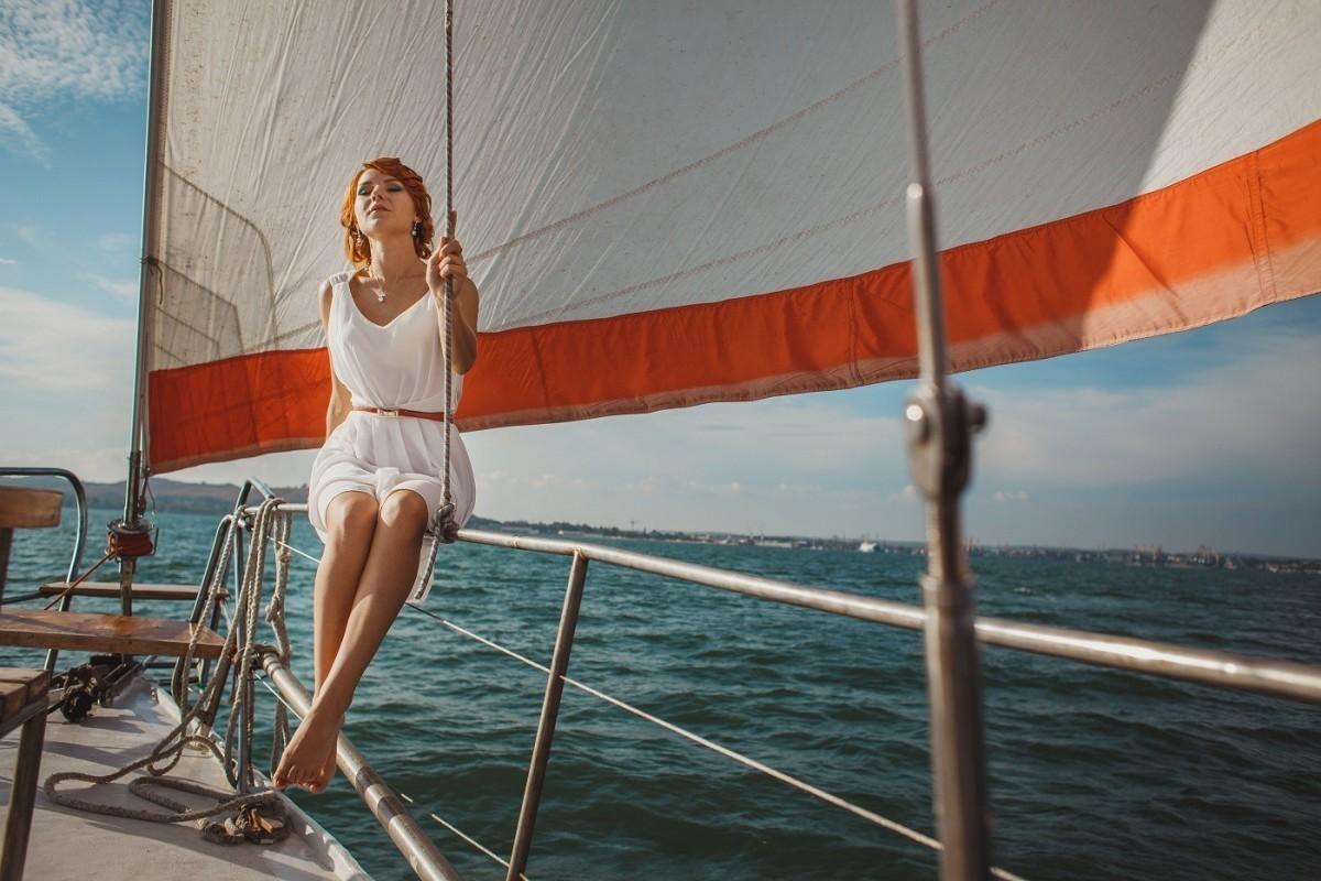 Фото: Прогулка на парусной яхте