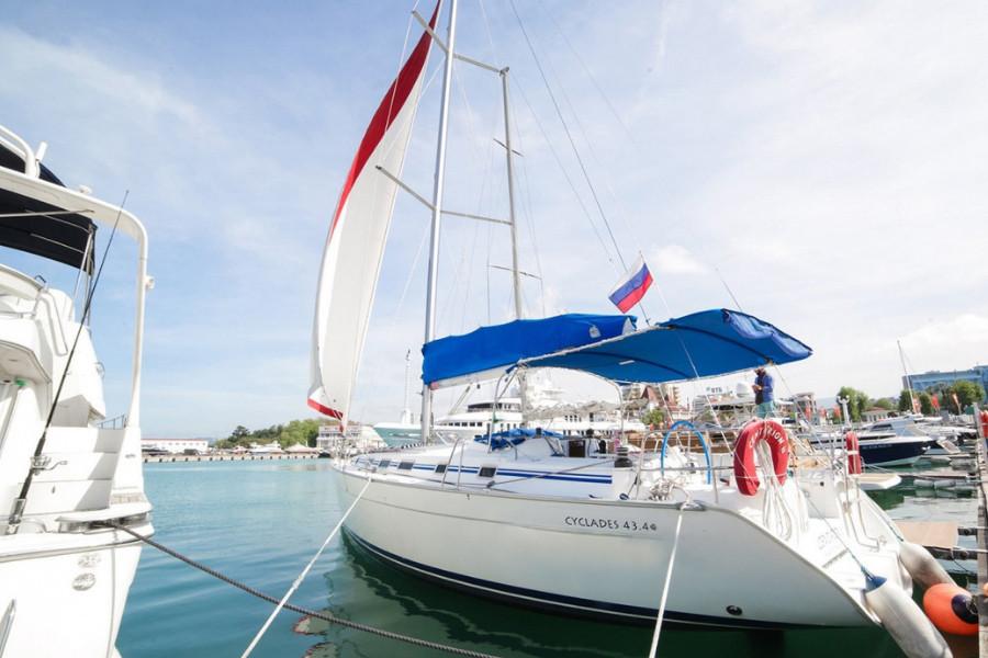 Фото: Аренда парусной яхты «Cyclades»
