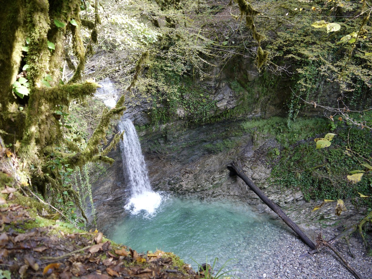 Фото: Прогулка к таинственному водопаду Ажек