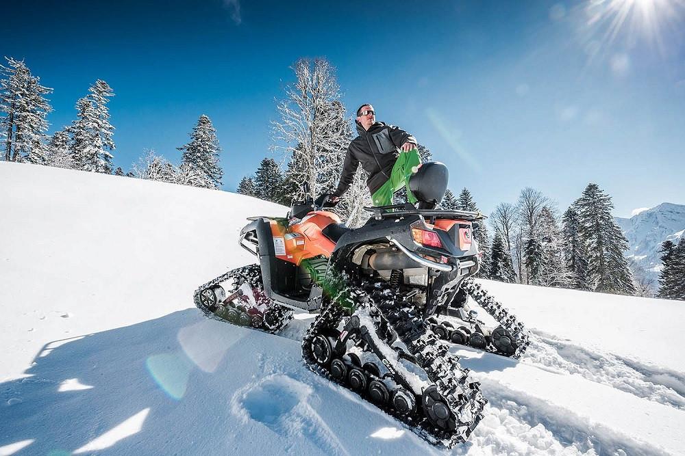 Фото: VIP-тур на снегоходах в Красной поляне
