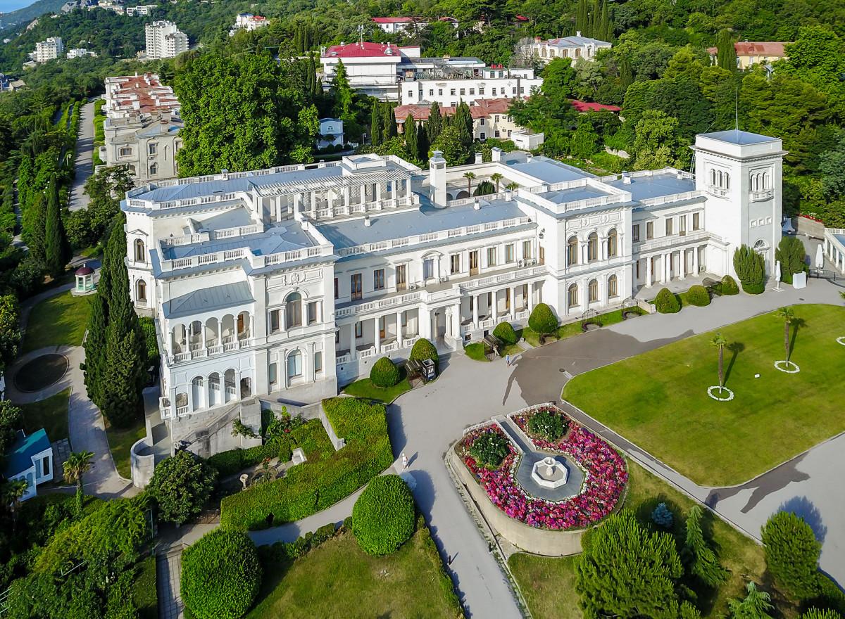 Фото: Ялта - дворцы Южного берега Крыма