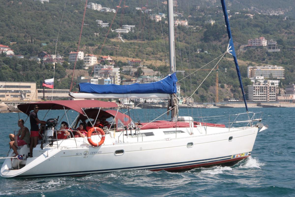 Фото: Аренда яхты «San Odyssey 42»