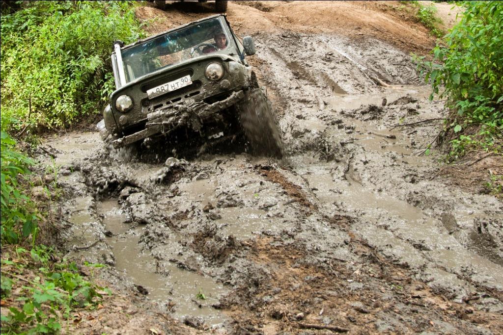 Фото: Джип-тур «Танки грязи не боятся»