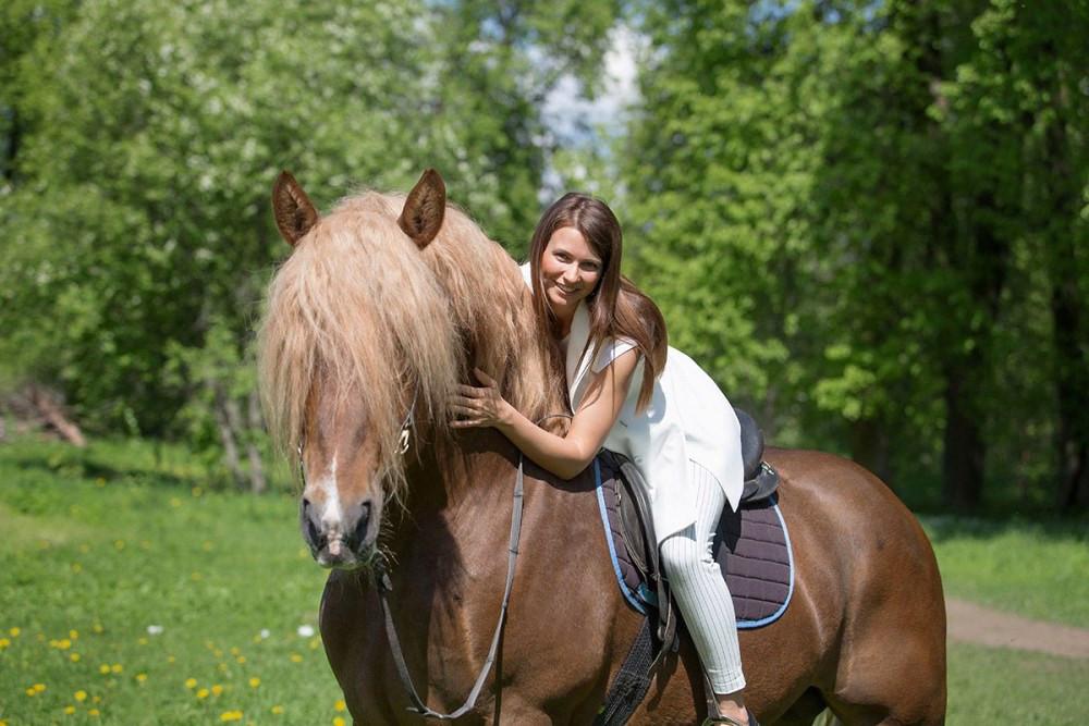 Прогулки на лошадях в СПб