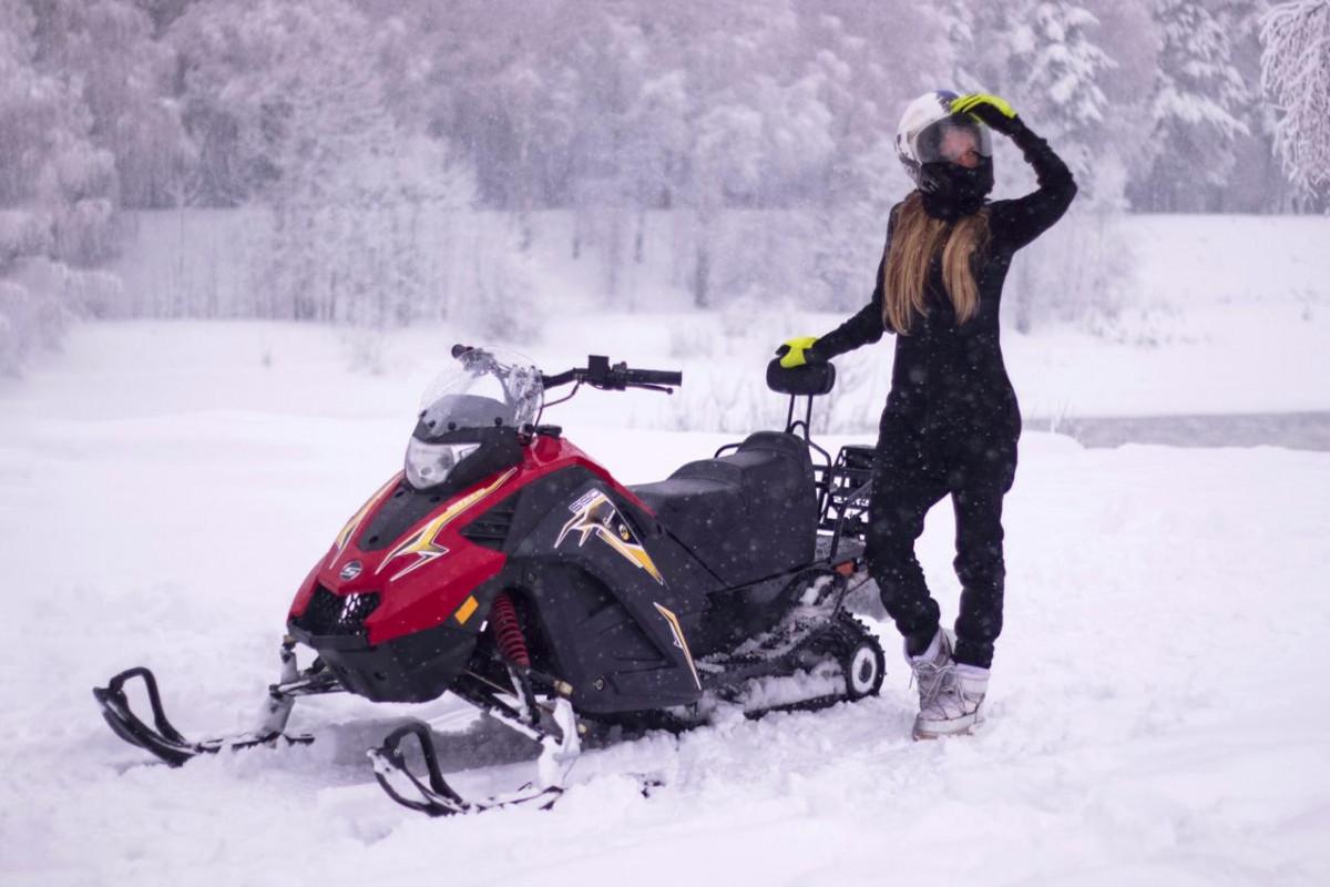 Катание на снегоходах в Подмосковье и Москве