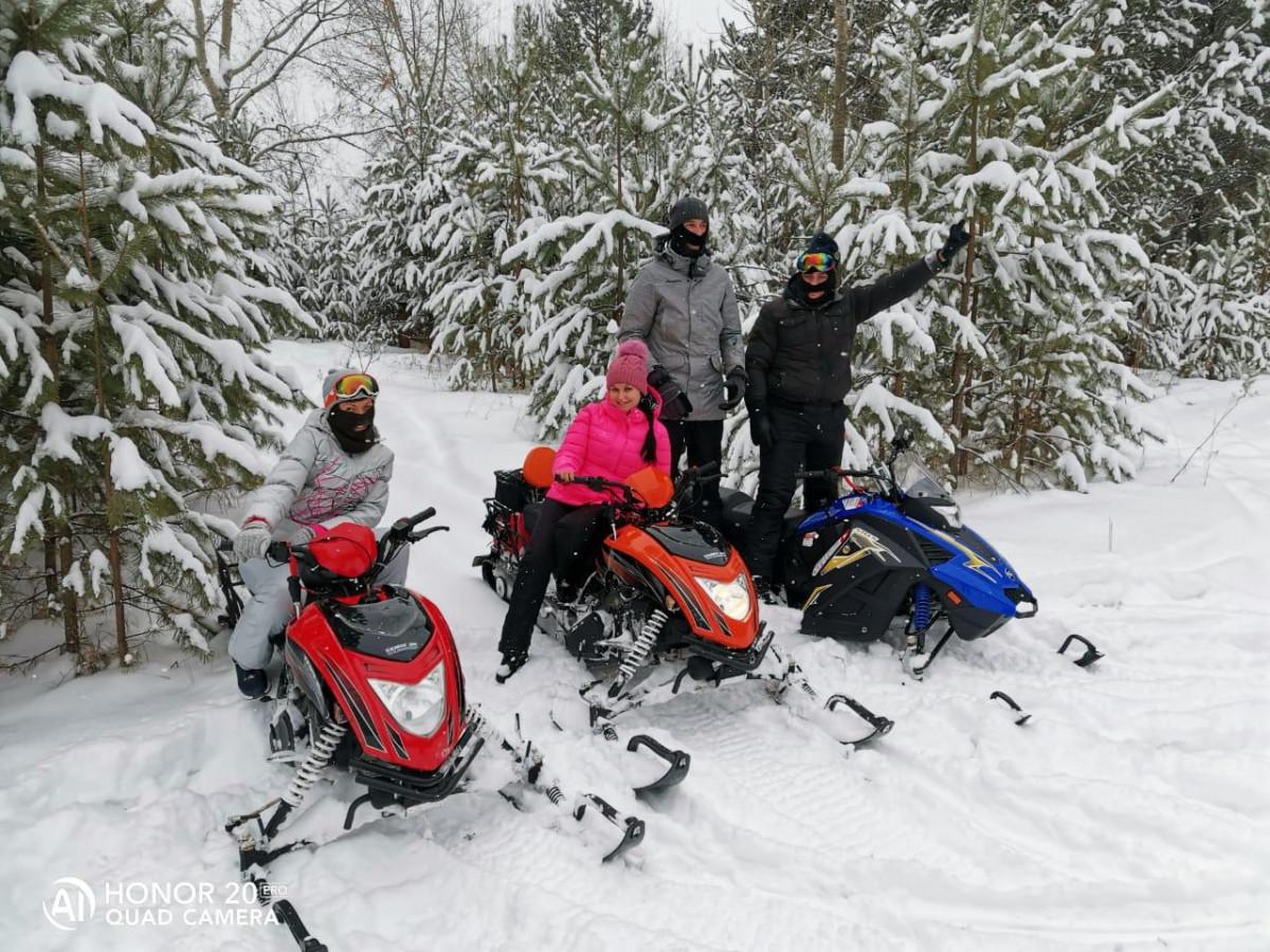 Катание на снегоходах: Красноярск